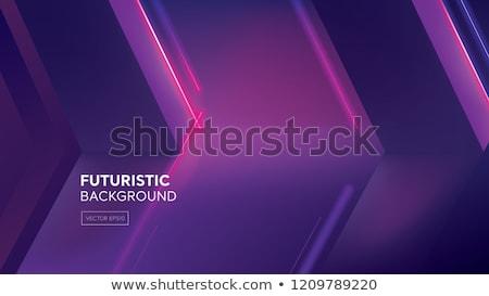 抽象的な 紫色 現代 アイコン ストックフォト © HypnoCreative