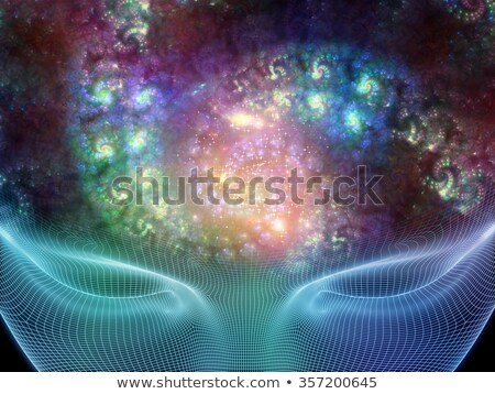surreal fractal vortex stock photo © arenacreative