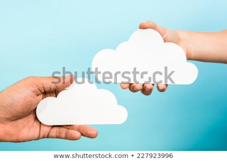 Due nubi cielo nube Foto d'archivio © zzve