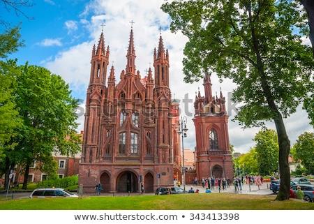 Romana católico iglesia antigua público dominio Foto stock © vavlt