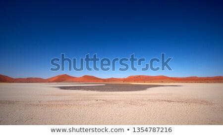 砂漠 · 道路 · ナミビア · アフリカ · 空 · 青 - ストックフォト © pxhidalgo