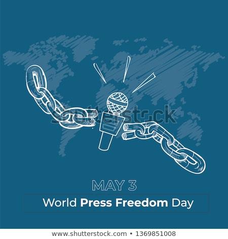 Foto stock: Communication Freedom