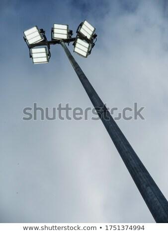 наводнения свет голубой небе строительство домой Сток-фото © smuay
