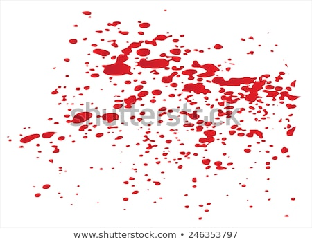 Blood splat stock photo © Lizard