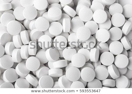белый таблетки высокий ключевые выстрел Сток-фото © ambientideas