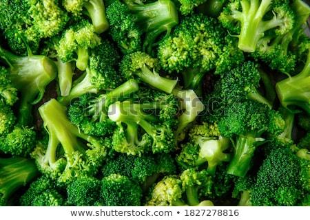 brokkoli · zöldség · izolált · fehér · háttér · csoport - stock fotó © natika