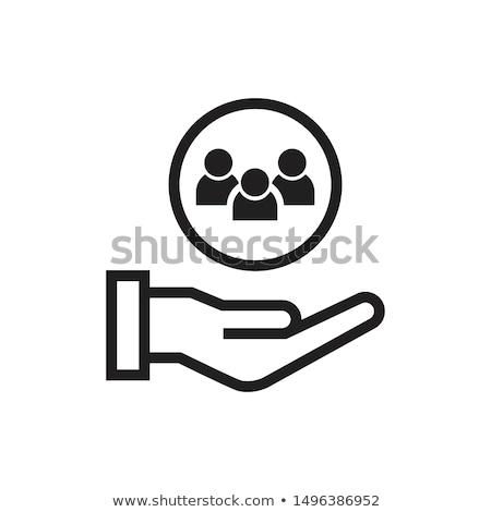 Stock fotó: Symbols Of Internet Services Icons