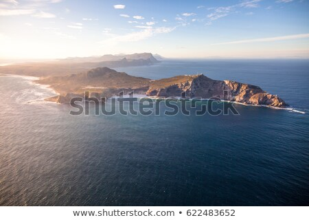 Rocky shoreline Cape Point Stock photo © backyardproductions