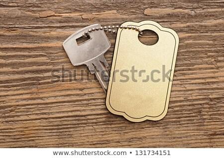 ипотечный Label файла выдвижной ящик Сток-фото © tashatuvango
