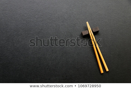 Dining table in an oriental style restaurant  Stock photo © punsayaporn