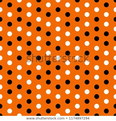 Halloween sem costura padrão laranja preto abstrato Foto stock © gubh83