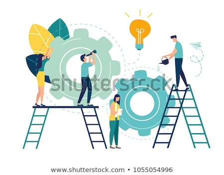 Upgrade business with help of technology Stock photo © stockyimages
