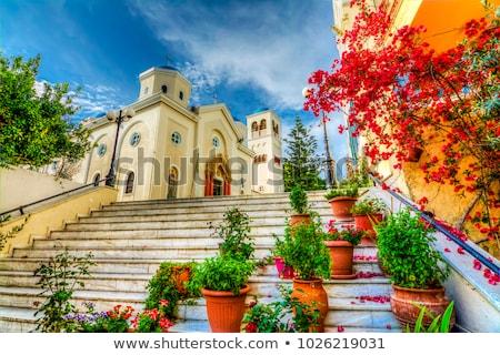 grecki · prawosławny · katedry · Grecja · budynku · kościoła - zdjęcia stock © pixxart