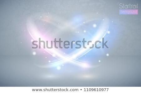 Abstract rosa plasma cerchio effetto stock Foto d'archivio © punsayaporn