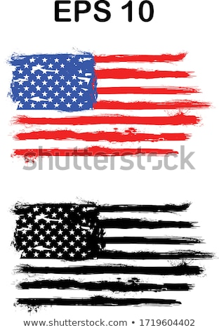 Stolz Farbe Flagge Grunge Illustration Design Stock foto © alexmillos