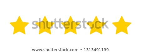 5 star golden vector icon button stock photo © rizwanali3d