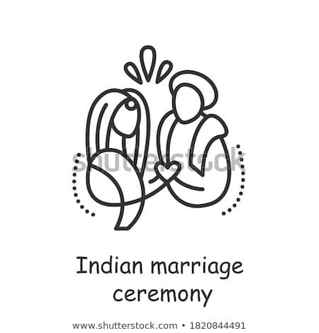 Casamento ritual Índia casamento dinheiro mãos Foto stock © ziprashantzi