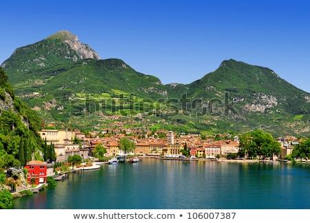 lake garda is the largest lake in italy stock photo © master1305
