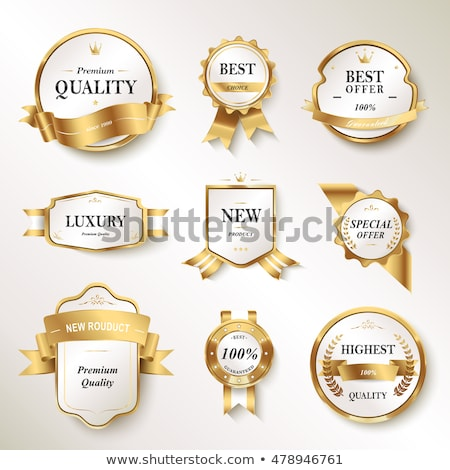 guarantee label set stock photo © illustrart