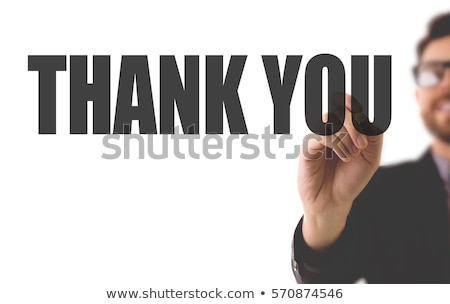 Thank you for your kind help Stock photo © Lighthunter