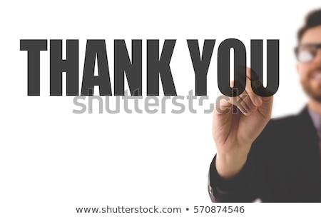 Merci aider jeunes personne argent supérieurs Photo stock © Lighthunter