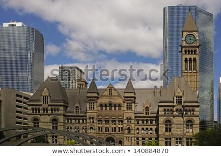 Edifícios velho novo toronto cidade Foto stock © pictureguy