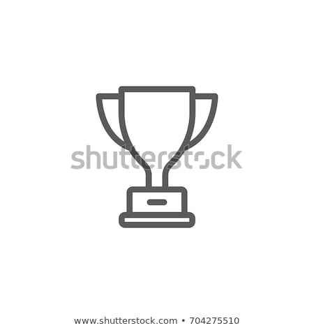 trophy icon Stock photo © get4net