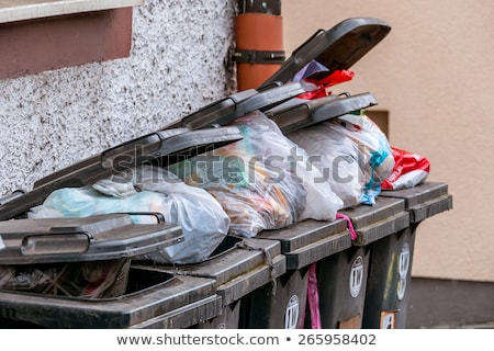Odpadów kolekcja opłaty śmieci ceny biały Zdjęcia stock © joker