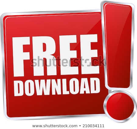 Free Download Red Vector Icon Design Stock photo © rizwanali3d