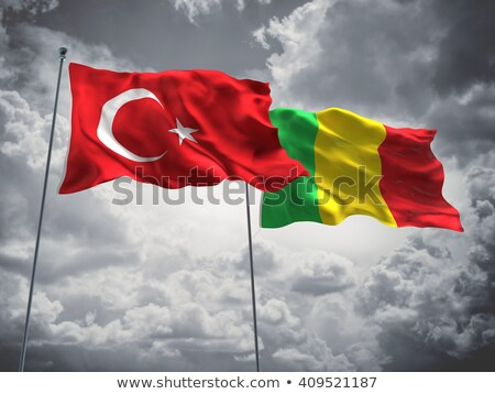Turkey and Mali Flags Stock photo © Istanbul2009