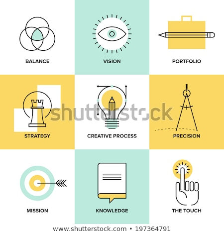 Product Branding Icon. Flat Design. Stock photo © WaD