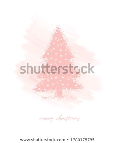 kar · taneleri · Noel · süsler · dekoratif · vektör - stok fotoğraf © rommeo79