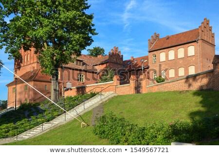 замок Польша здании путешествия архитектура Европа Сток-фото © phbcz