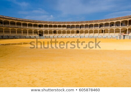 bullfight arena stadium Stock photo © vichie81