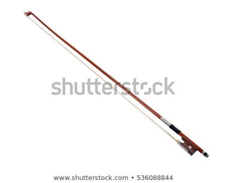 Hegedű íj folt illusztráció Stock fotó © iconify