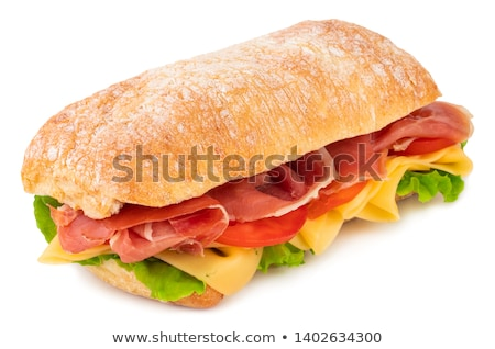 Ciabatta sandwich Stock photo © karandaev