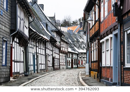 Goslar half timbered house in the town Stock photo © LianeM