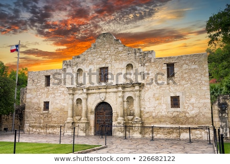 Texas front budynku walki turystycznych turystyki Zdjęcia stock © BrandonSeidel
