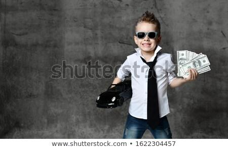 Ricca persone contanti illustrazione soldi Foto d'archivio © bluering