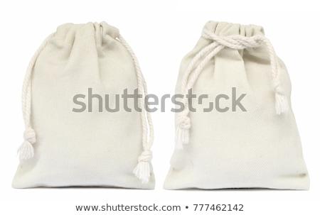Joyas aislado blanco tejido bolsa regalo Foto stock © tito