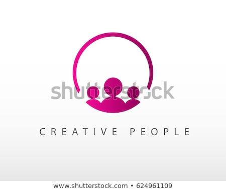 Travail · d'équipe · personnes · connexion · symbole ...