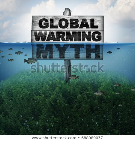 Stock photo: Global Warming Myth
