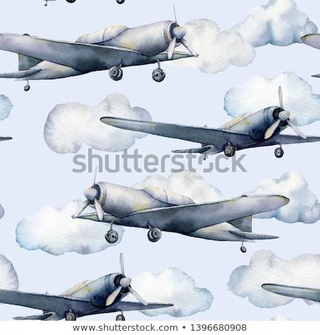самолета авиация самолет воздуха транспорт Сток-фото © studiostoks