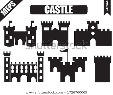 Tower of a medieval castle Stock photo © alessandro0770