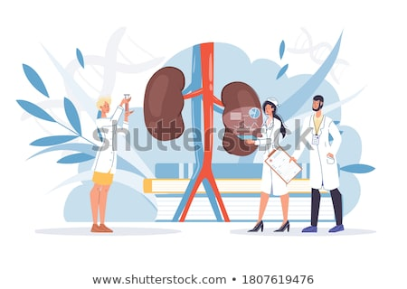 hysterie · diagnose · medische · 3d · render · afgedrukt · wazig - stockfoto © tashatuvango