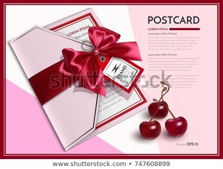 チェリー · 実例 · フルーツ · 葉 · 赤 · 桜 - ストックフォト © frimufilms