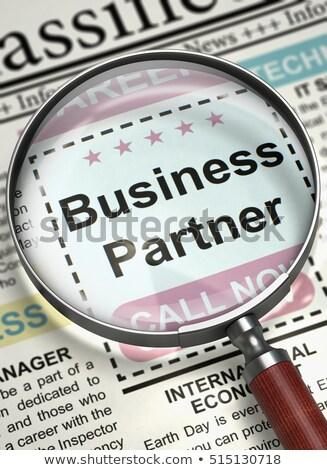 Business Consultant Wanted. 3D. Stock photo © tashatuvango