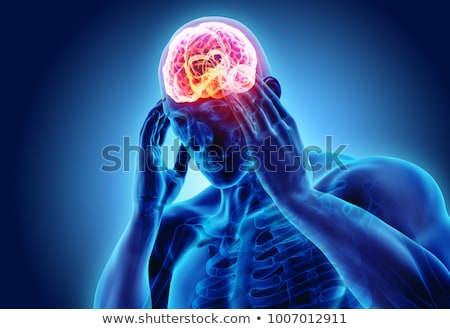 Migraine. Medical Concept. Stock photo © tashatuvango