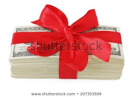 soldi · arco · isolato · bianco · business - foto d'archivio © illustrart