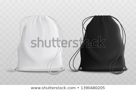 Bags - modern vector realistic isolated set of objects stock photo © Decorwithme